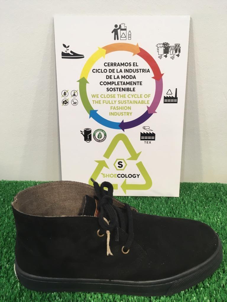 Zapato botín ecológico negro