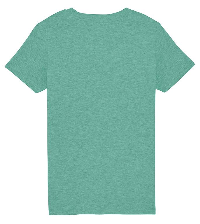 Camiseta surfera niño verde