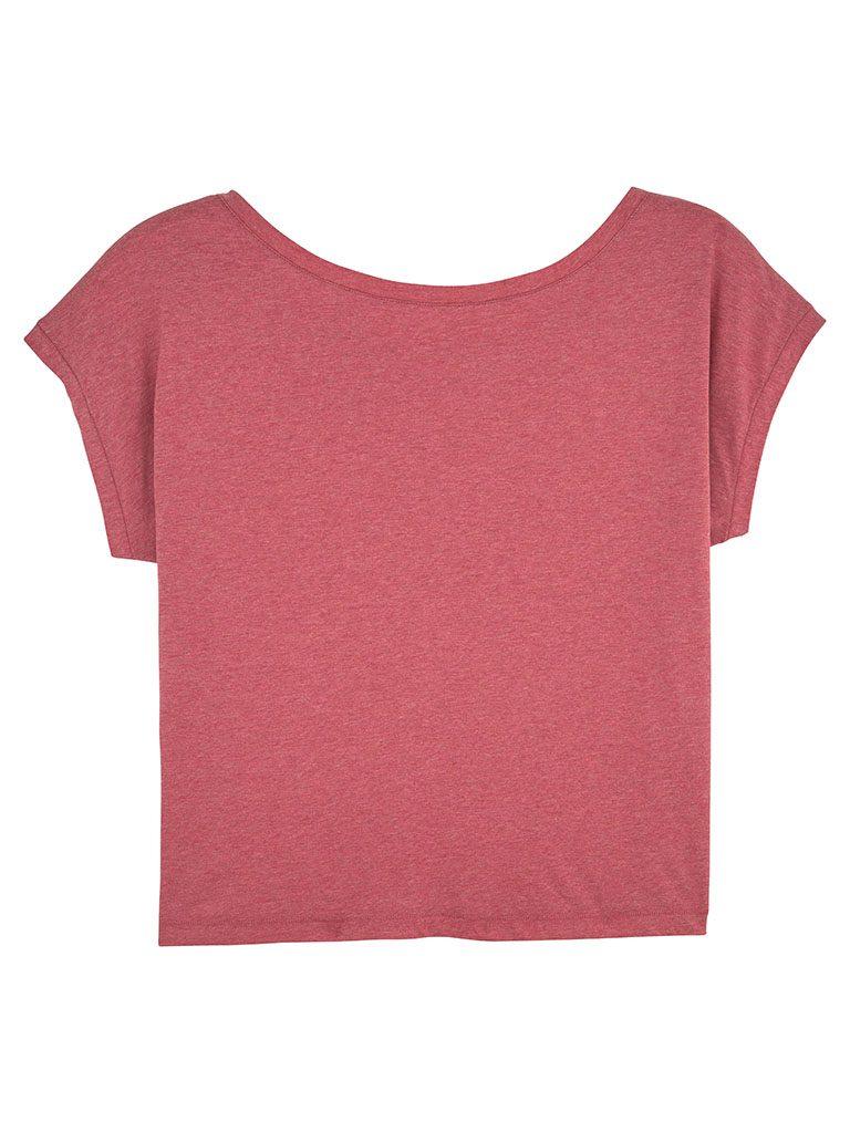 Camiseta informal ancha