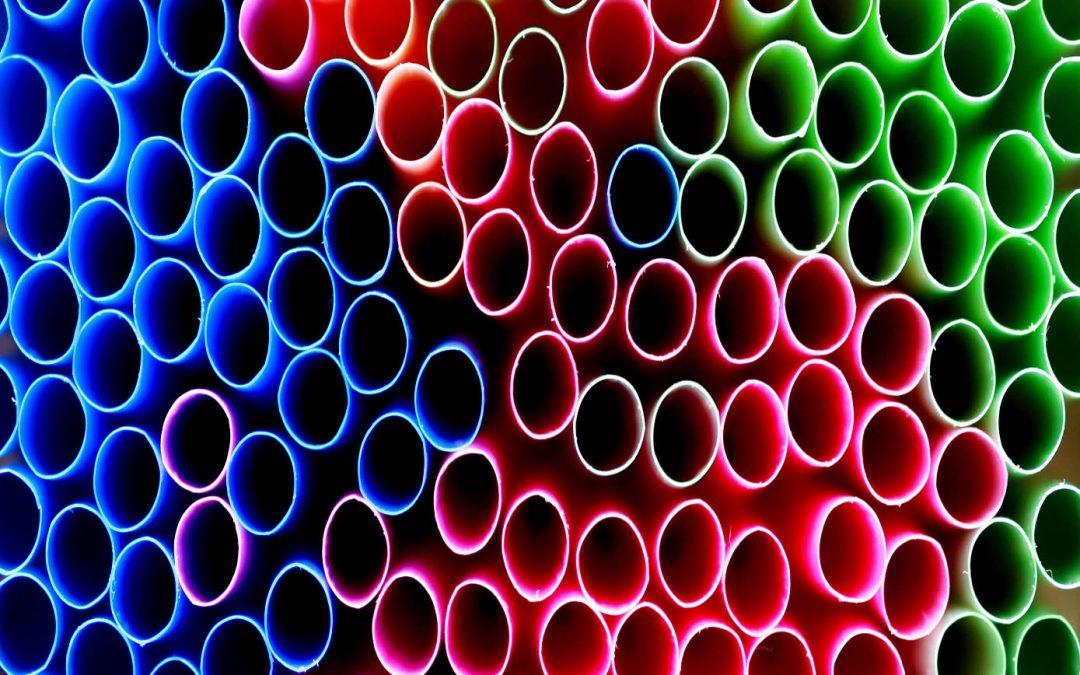 En contra de las pajitas de plástico