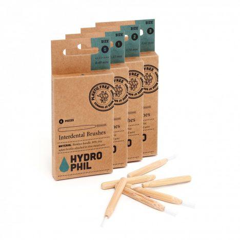 Cepillo interdental de bambú sostenible